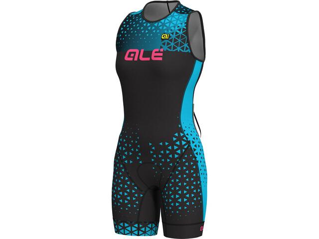 Alé Cycling Triathlon Rush Olympic Kobiety czarny/turkusowy